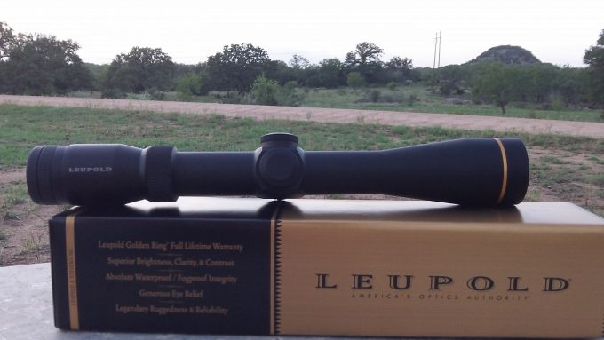 Leupold VX-2 3-9x40 package
