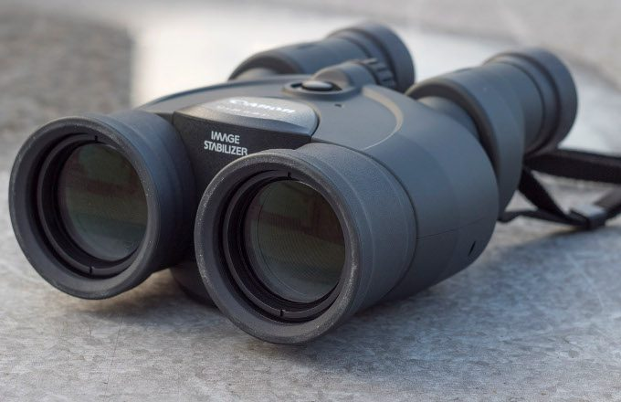 Binocular with image stabilizer