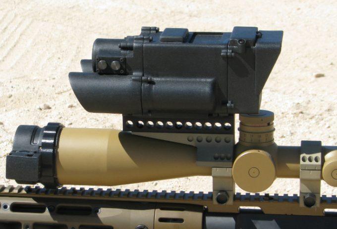 Darpa one shot sniper scope