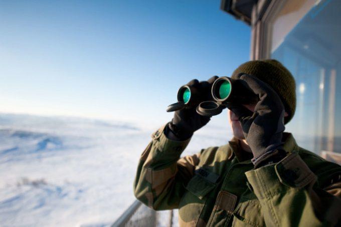 Finding a good binoculars view