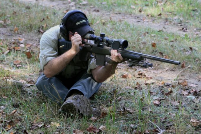 Finding the target using scope