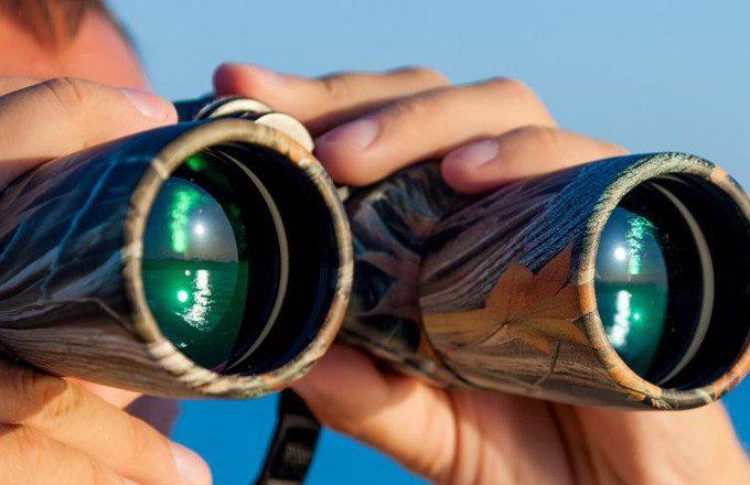 Lens exit pupil size