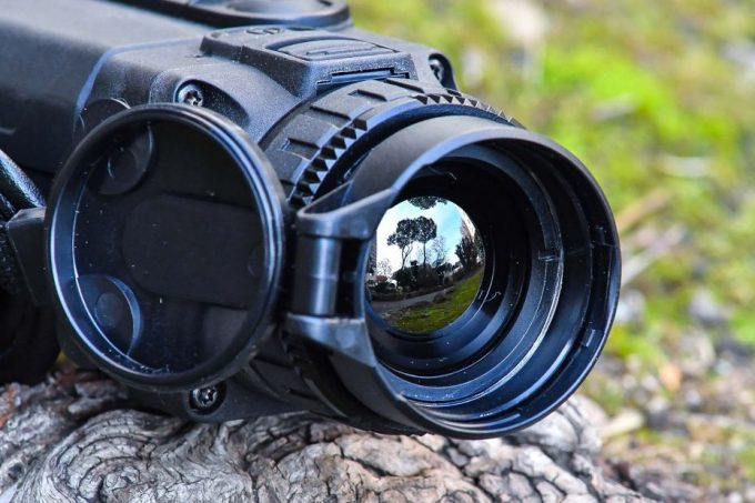 Lens of thermal scope