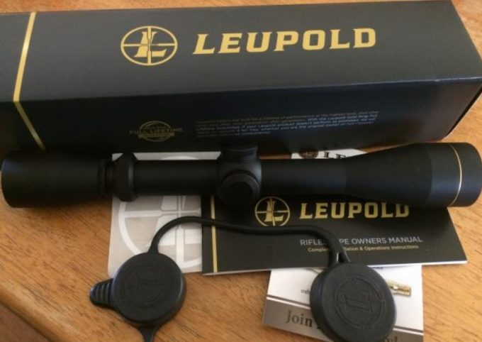 Leupold VX-1 3x9x40 package