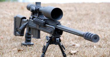 Long range rifle scope