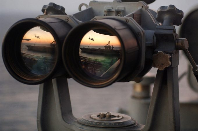 Picture of naval binoculars