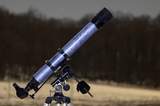 Setting up beginner telescope