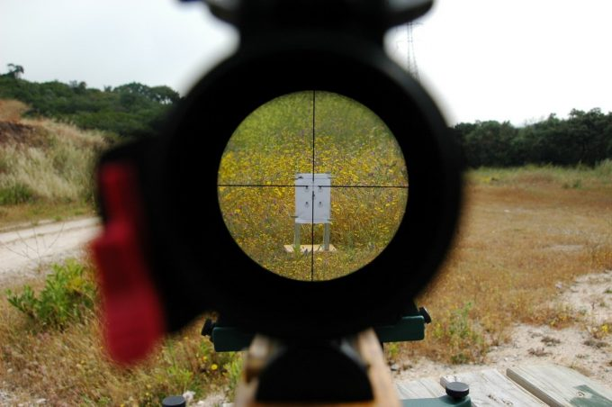 Sniper scope magnification