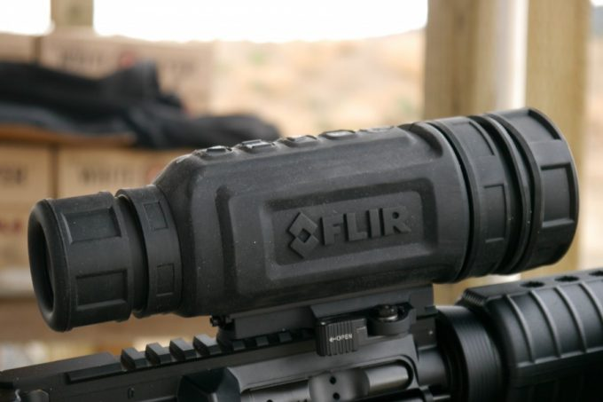 Thermal optics scope