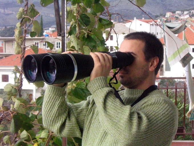 big magnification binocular