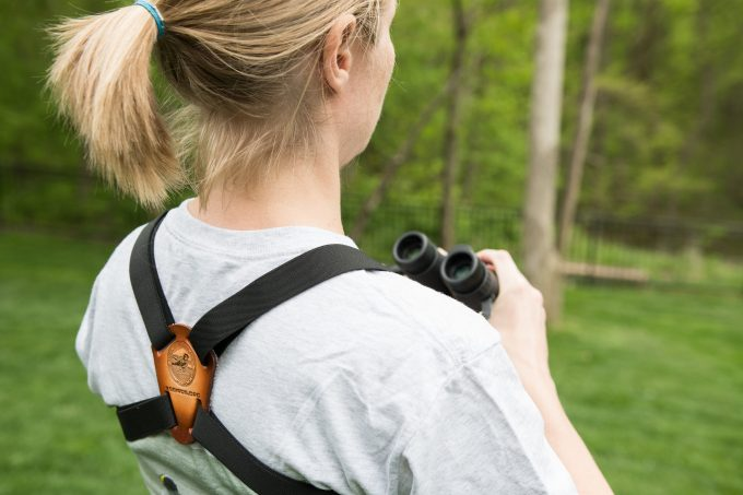 binoculars harness featured