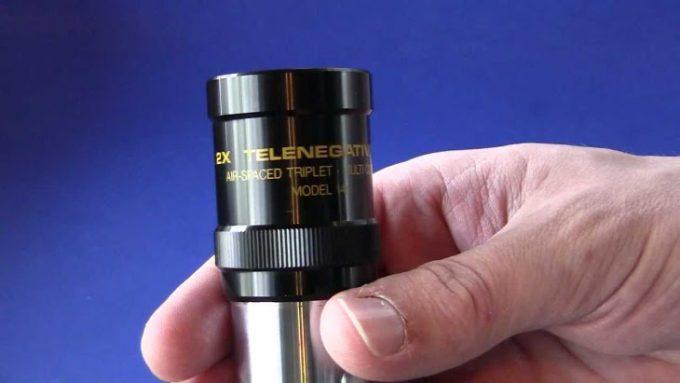 Barlow lens closeup