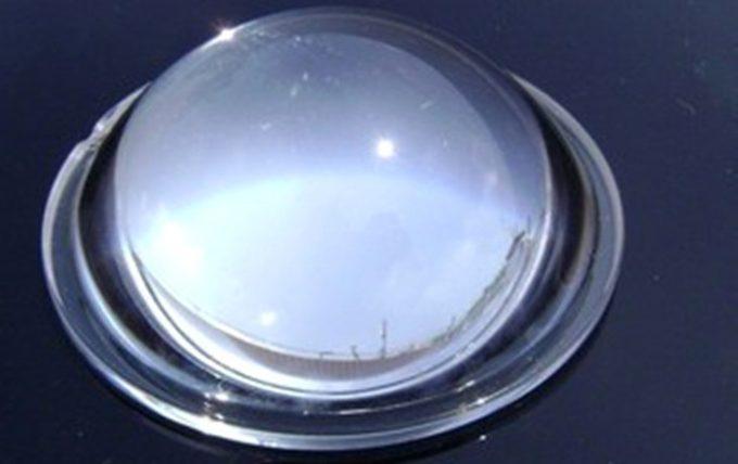 Convex lens eyepiece