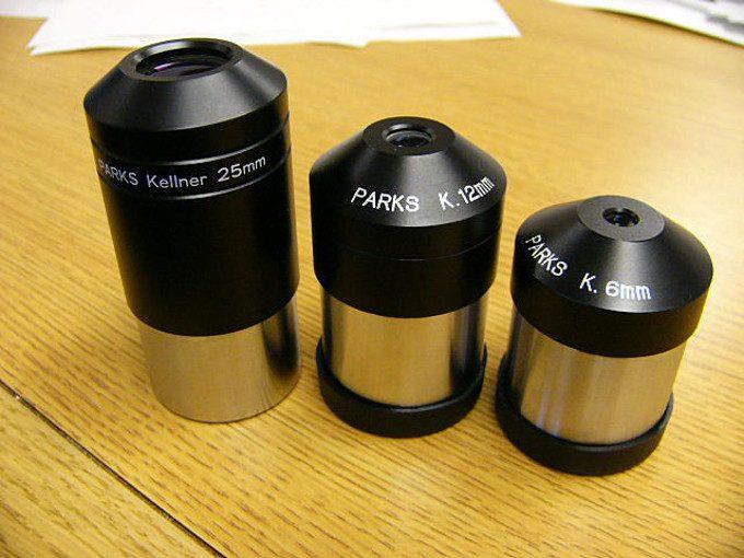 Kellner lens eyepieces
