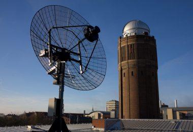 Lund Observatory telescope