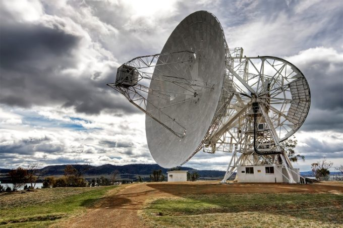 Mt. Pleasant radio telescope