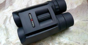 Phase-coated compact binocular