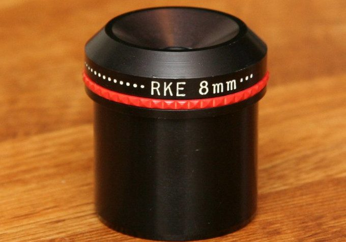 RKE eyepiece on table