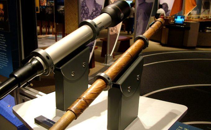 Replica of galileo's telescope