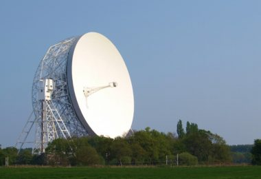 big radio telescope