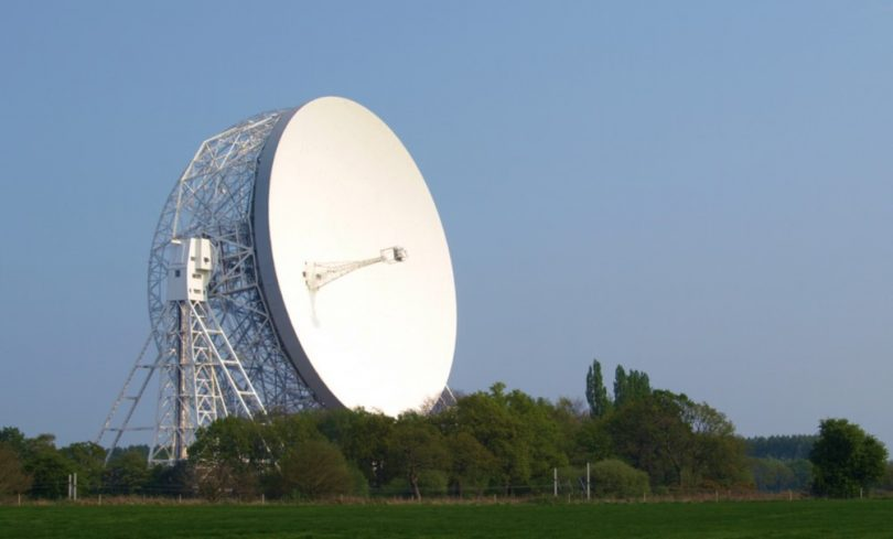 big radio telescope