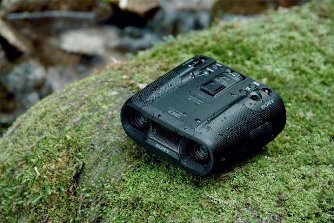 Sony binoculars with camera