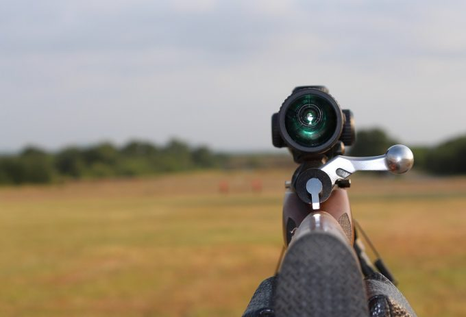 View on nikon riflescope