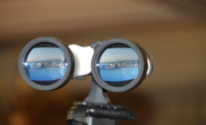 binocular lense