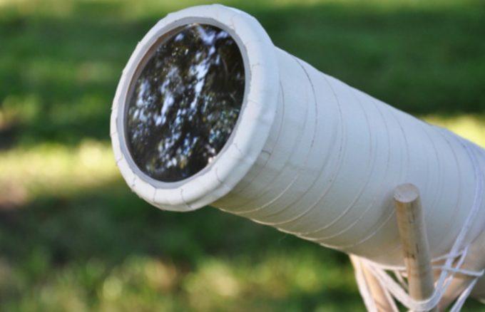 homemade telescope