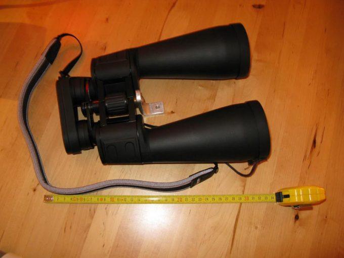 binocular size