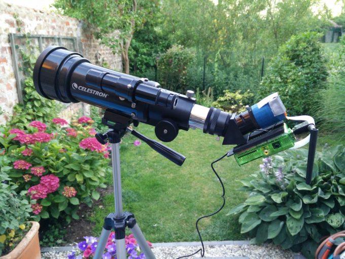 telescop with camera