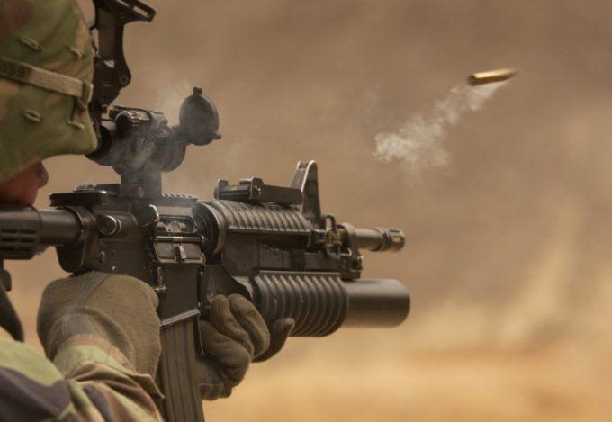 fired bullet