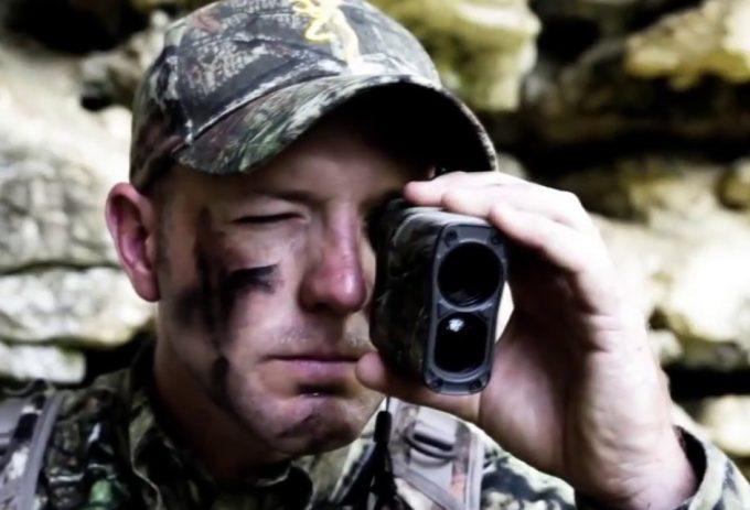 hunter with vortex rangefinder