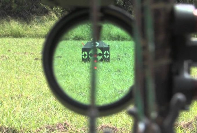 view through bow sight