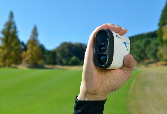 Nikon Rangefinder in a Hand