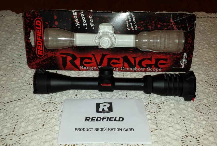 Redfield Revenge Crossbow Scope Review: Features, Prices, Competitors