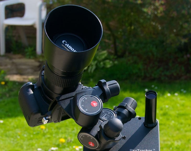 Ready for astrophotography