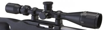 BSA Sweet .22 3-9 x 40mm Rifle Scope Matte Black