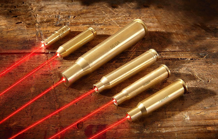 Top laser bore sighters