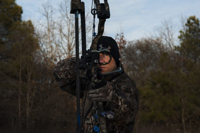 bow hunting with rangefinder