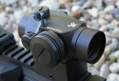 Parallax free red dot