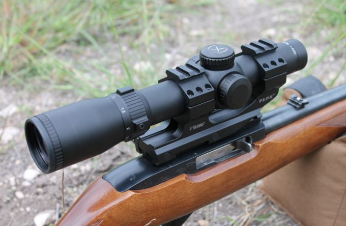Tactical scope for rifle