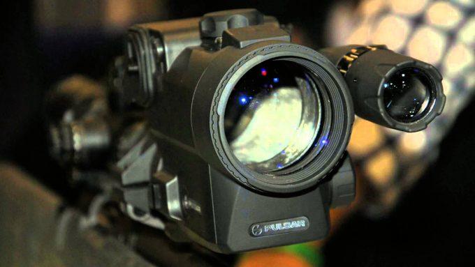 night vision scope up close