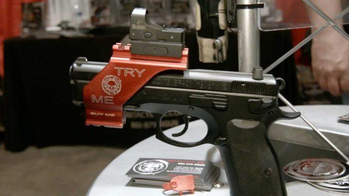 pistol sight