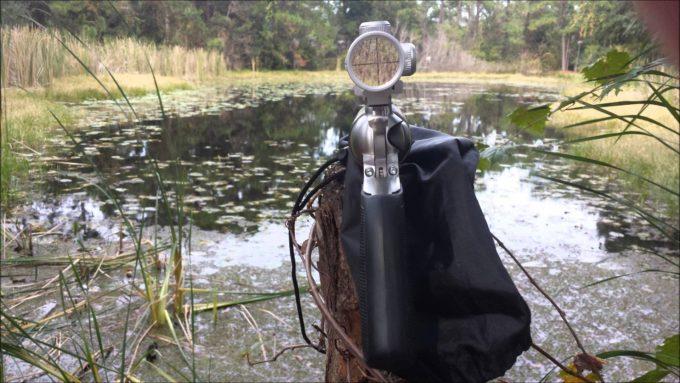 look through revolver scope