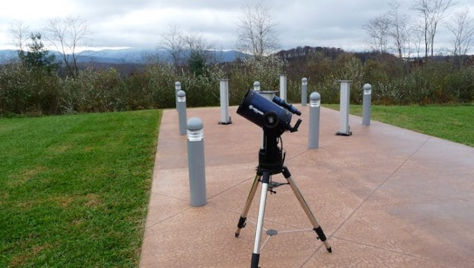 F10 focal ratio telescope