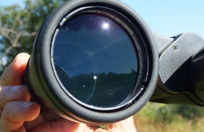 Binoculars objective lens