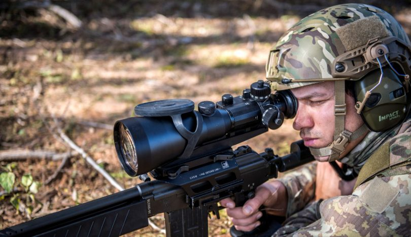 Cheap thermal rifle scope