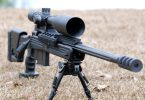 Long range rifle scope