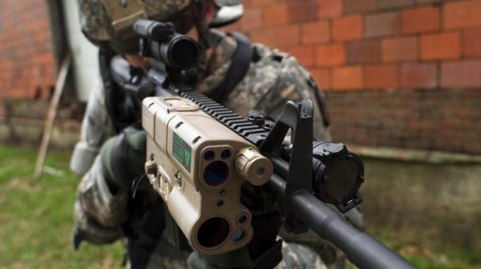 Rangefinder on gun